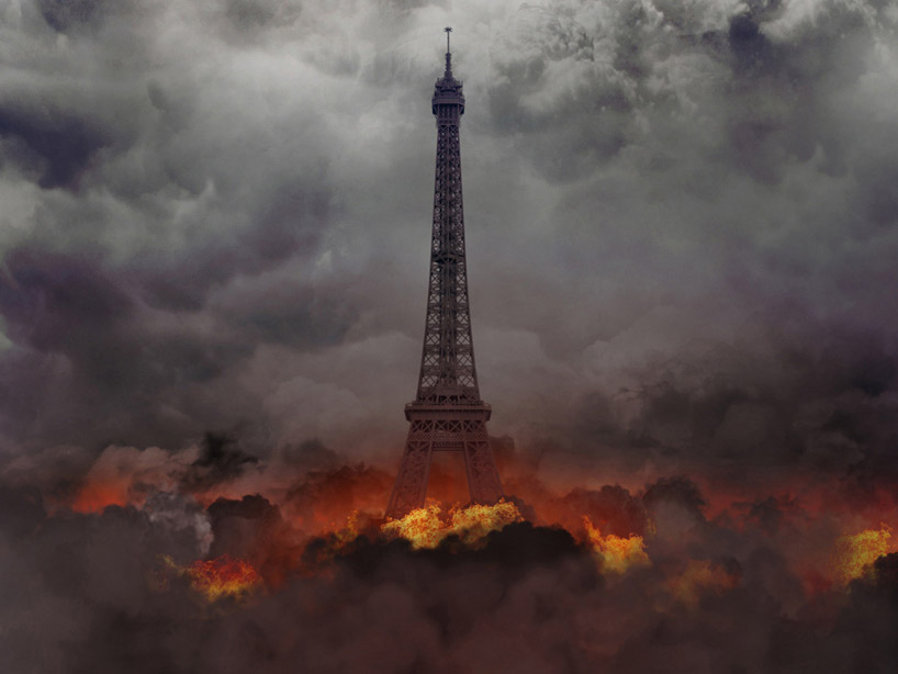 michal-zak-destroyed-capital-city-paris-france