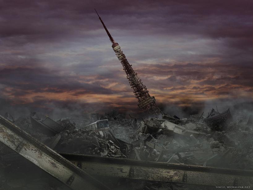 michal-zak-destroyed-capital-city-art1-tokyo-japan