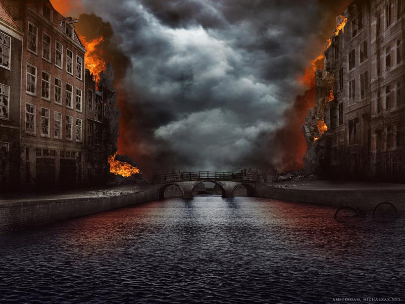 michal-zak-destroyed-capital-city-art-amsterdam-holland