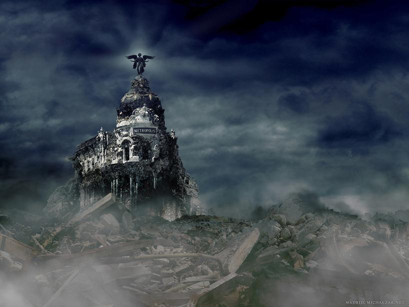 michal-zak-destroyed-capital-city-art-madrid-spain