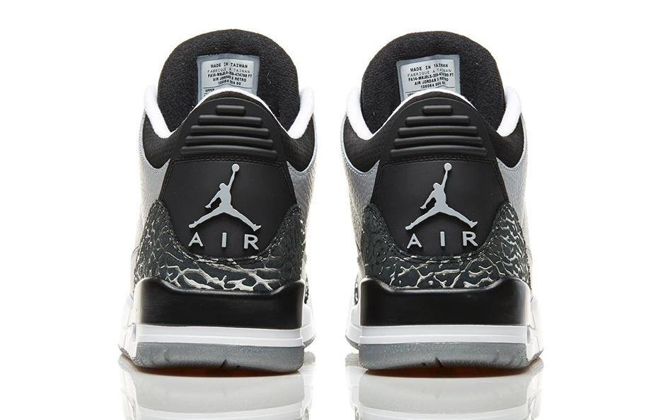 nike air jordan retro 3 III wolf grey