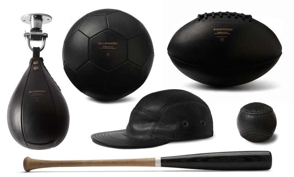 black-Footballs-soccer-american-baseball-bat-wood-suede-leather