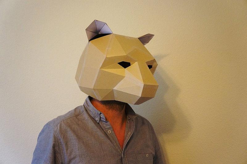 Steve Wintercroft 3d Printable Mask Diy Decoration