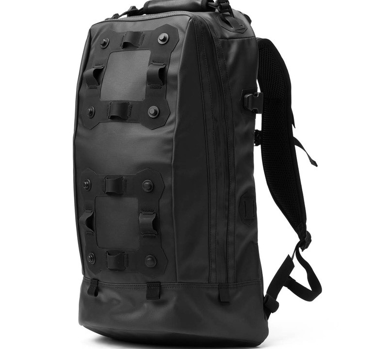 black ember black backpack rugsack