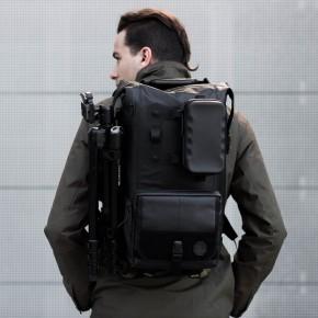 black ember black backpack rugsack