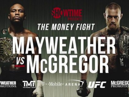 <center>FLOYD MAYWEATHER vs CONNOR McGREGOR</center>